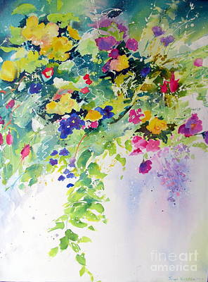 Painting - Hanging Basket by John Nussbaum