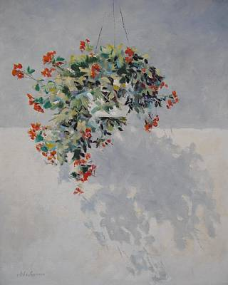 Painting - Hanging Basket by John  Svenson