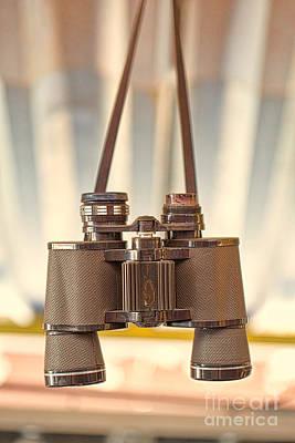 Photograph - Hanging Binoculars by Kim Wilson