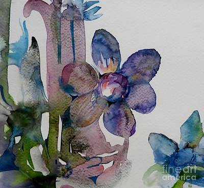 Painting - Hanging Flower by Donna Acheson-Juillet