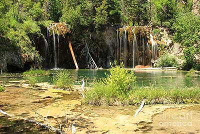 Photograph - Hanging Gardens At Hanging Lake by Adam Jewell