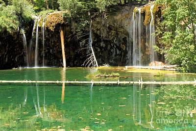 Photograph - Hanging Lake Colorado by Adam Jewell