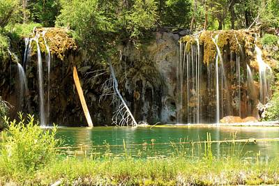Photograph - Hanging Lake Falls by Adam Jewell