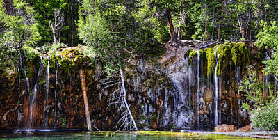 Photograph - Hanging Lake by Ken Smith