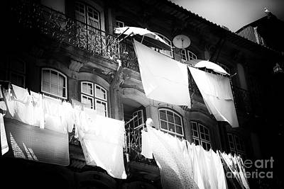 Photograph - Hanging Laundry by John Rizzuto