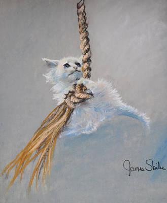 Hanging On Art Print by James Skiles