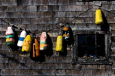 Blue Bouys Painting - Hanging Out To Dry by Cole Black