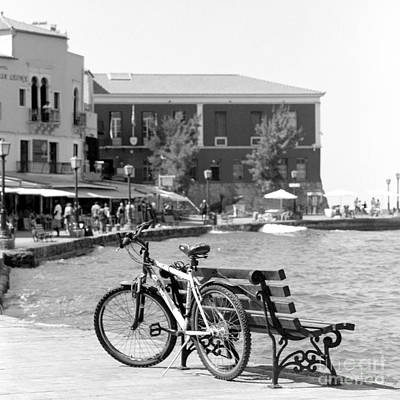 Photograph - Hania Harbour Scene by Paul Cowan