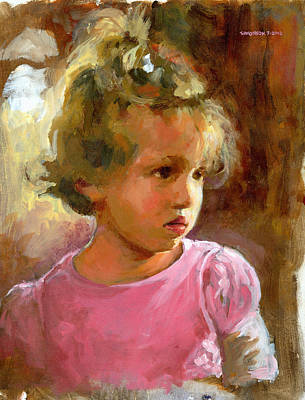 Innocent Painting - Hannah by Douglas Simonson