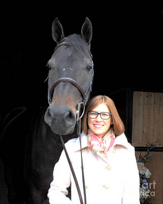 Photograph - Hannah Sunday 2 by Life With Horses