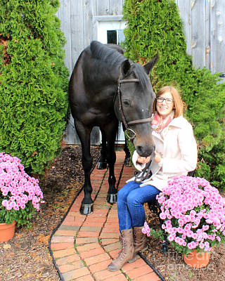 Photograph - Hannah Sunday 3 by Life With Horses