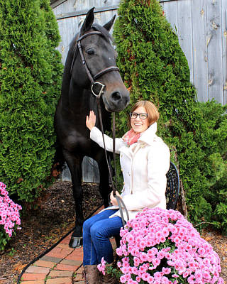 Photograph - Hannah Sunday 4 by Life With Horses