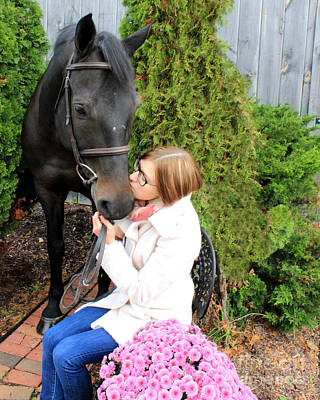 Photograph - Hannah Sunday 5 by Life With Horses