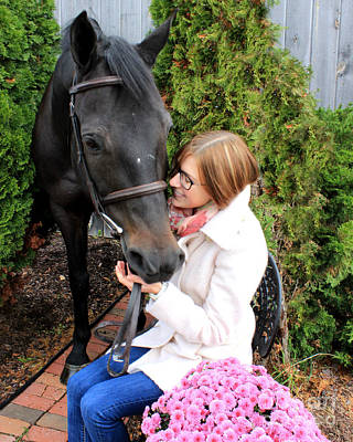Photograph - Hannah Sunday 6 by Life With Horses