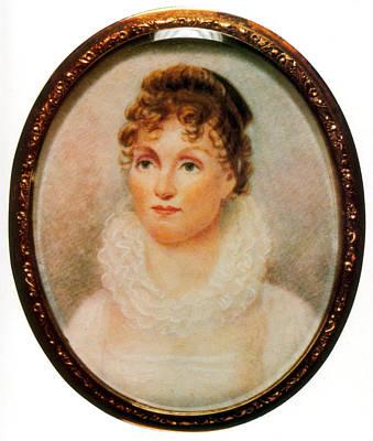 Painting - Hannah Van Buren, Wife Of Martin Van by Science Source
