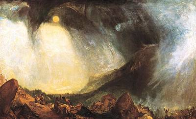 Painting - Hannibal And His Army  by Joseph Mallard William Turner