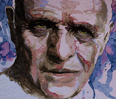 Anthony Hopkins Painting - Hannibal by Laur Iduc