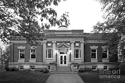 Indiana Photograph - Hanover College Hendricks Hall by University Icons