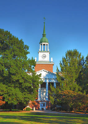 Hanover College Art Print by Steven Ainsworth
