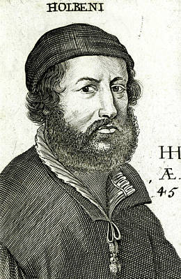 Religious Artist Drawing - Hans Holbein (the Elder)  German Artist by Mary Evans Picture Library