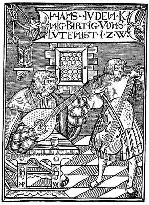 Hans Judenkunig, 1523 Art Print by Granger