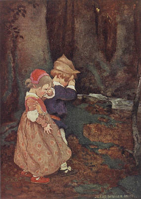 Crying Photograph - Hansel And Gretel by British Library