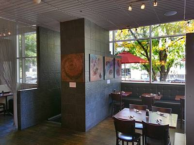 Mixed Media - Hapa Sushi Cherry Creek 2 by Angelina Vick