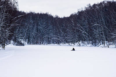 Angling Photograph - Happily Alone - Featured 3 by Alexander Senin