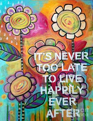 Painting - Happily Ever After by Carla Bank