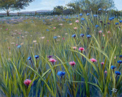 Painting - Happiness Field by Susan Jenkins