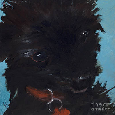 Shih-poo Painting - Happiness Is... Stella by Alyson Kinkade