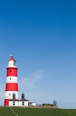 Happisburgh Lighthouse Print by Paul Lilley
