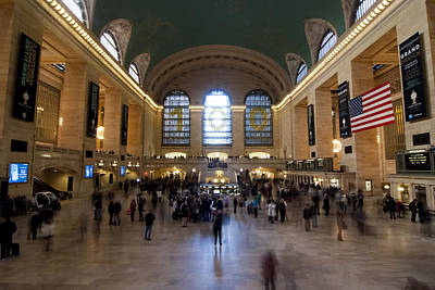 Photograph - Happy 100th Birthday Grand Central Terminal by Michael Dorn