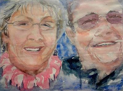 Painting - Happy Anniversary by Barbara McGeachen
