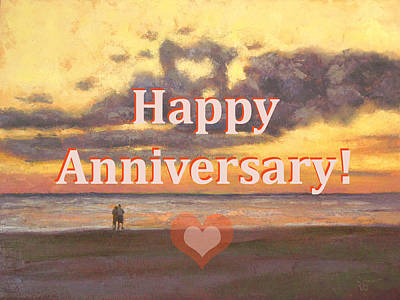 Painting - Happy Anniversary by Robie Benve
