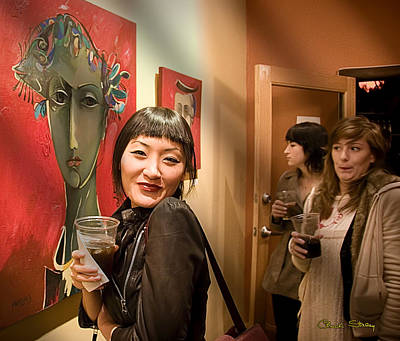 Photograph - Happy Art Lover by Chuck Staley