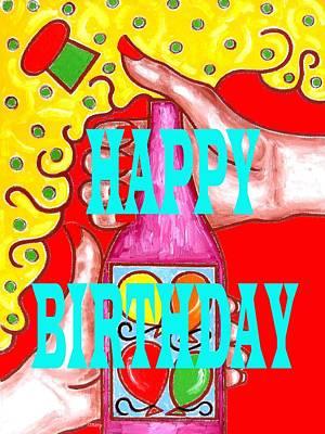 Happy Birthday 1 Art Print by Patrick J Murphy