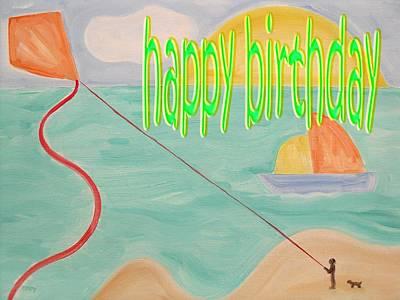 Happy Birthday 26 Art Print