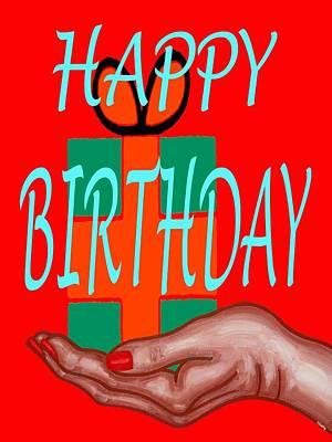 Happy Birthday 3 Art Print by Patrick J Murphy