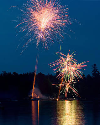 Photograph - Happy Birthday America by Barbara West