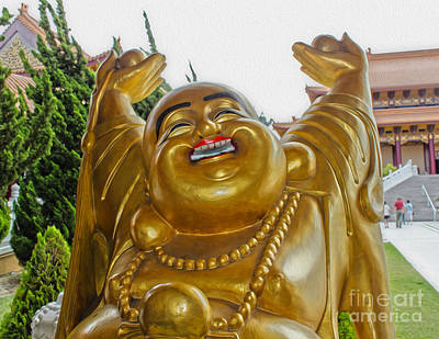 Photograph - Happy Buddha by Gregory Dyer