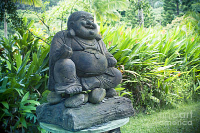 Photograph - Happy Buddha by Sharon Mau