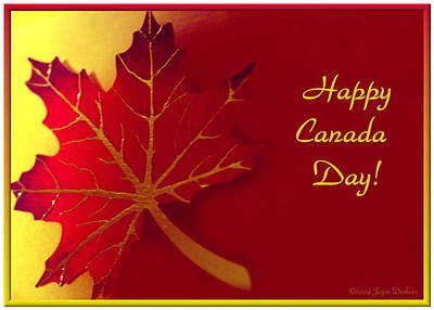 Photograph - Happy Canada Day by Joyce Dickens
