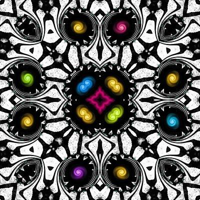 Digital Art - Happy Christmas Theme by Marcela Bennett