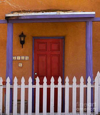 Photograph - Red Door by Nancy Yuskaitis