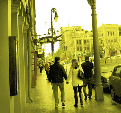 Photograph - Happy Couple New Orleans by Michael Morgan