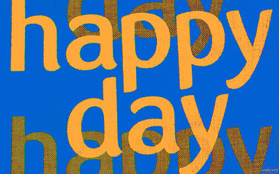 Happy Day Five Art Print