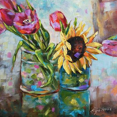 Painting - Happy Day by Mirjana Gotovac