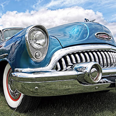 Photograph - Happy Days - '53 Buick Riviera by Gill Billington