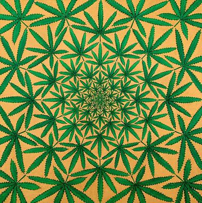 Hypnotic Painting - Happy Daze by Larry Smart